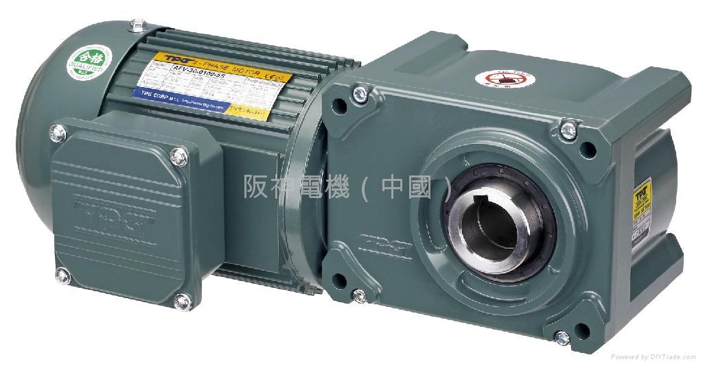RIGHT ANGLE HYPOID BEVEL GEAR MOTOR